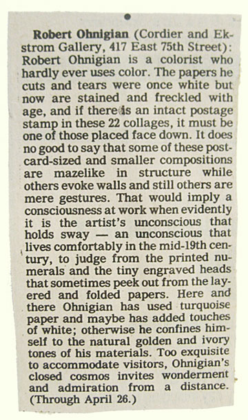 Robert Ohnigian - The New York Times